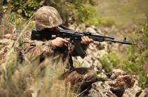 На армяно-азербайджанской границе в основном сохраняется режим прекращения огня - МО Армении