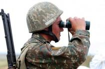 На армяно-азербайджанской границе сохраняется относительно стабильная ситуация