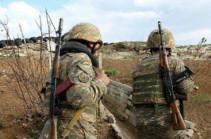Ситуация на границе Армении и Азербайджана относительно спокойная