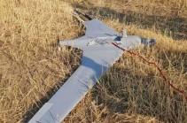 Подразделения Армии обороны Арцаха сбили разведывательный беспилотник противника