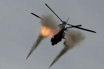 Вертолеты израильских ВВС атаковали южные районы Дамаска