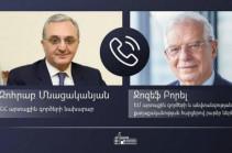 Տեղի է ունեցել Զոհրաբ Մնացականյանի, Ջեյհուն Բայրամովի և Ջոզեֆ Բորելի հեռախոսազրույցը