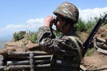 Ситуация на армяно-азербайджанской границе в ночь на 23 июля была относительно спокойной