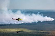 Площадь лесных пожаров в России за неделю выросла более чем вдвое