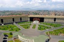 На армяно-азербайджанской границе сохраняется относительное спокойствие – Минобороны Армении