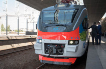 ЮКЖД сообщил о спаде объема пассажироперевозок в Армении
