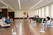 Министр обороны Армении провел встречу с послом РФ Сергеем Копыркиным