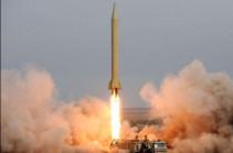 Иран провел запуск баллистических ракет во время учений