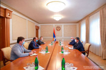 Artsakh president received Armenia's Security Council Secretary