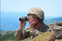 Situation on Armenian-Azerbaijani state border relatively calm: MOD
