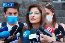 Возбужденное на основании заявления Микаела Минасяна уголовное дело прекращено – Лусине Саакян