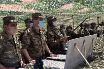 Начальник Генштаба ВС Армении посетил армейские корпуса