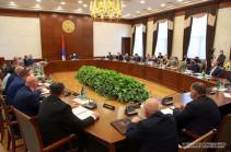 Կայացել է Արցախի կառավարության առաջին նիստը