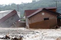 Южную Корею накрыли сильнейшие ливни: есть погибшие и пропавшие без вести