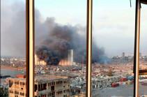 Премьер Ливана назвал причину взрыва в порту Бейрута