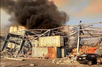 В Ливане объявлен траур по жертвам взрыва в Бейруте