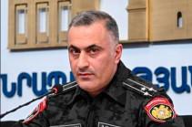Айк Мгрян освобожден от должности заместителя начальника полиции