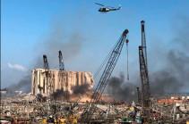 Բեյրութում տեղի ունեցած պայթյունի հետևանքով ֆրանսիացի ճարտարապետ է զոհվել, Ֆրանսիայի ևս 24 քաղաքացի վնասվածքներ է ստացել