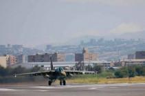 ՀՀ ԶՈւ գրոհային ավիացիոն ուժերը վարժանքներ են իրականացնում (Տեսանյութ)