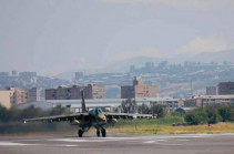 Armenia's Aviation Forces conduct exercises (video)
