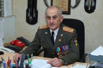 После 25-летней военной службы, я демобилизуюсь из рядов Армии обороны – Сенор  Асратян подал в отставку