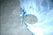 Գյումրիում նռնակ է հայտնաբերվել