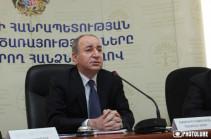Роберту Назаряну предъявлено обвинение, подано ходатайство о его аресте