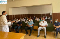 Директор инфекционной больницы «Норк» Мгер Давидянц представил заявление об уходе