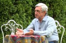 Серж Саргсян: Вопрос в том, почему «революционные власти» проигнорировали и не смогли использовать достижения Апрельской четырехдневной войны? (Видео)