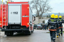 В Азербайджане загорелся газопровод (Видео)