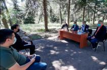 Романос Петросян обсудил проблемы озера Севан с персоналом национального парка «Севан»