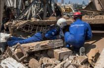 Российские спасатели извлекли из-под завалов в Бейруте восемь погибших