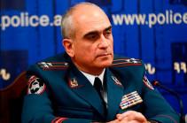 Тигран Есаян освобожден от должности заместителя начальника полиции