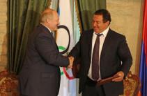 Гагик Царукян направил поздравительное послание Александру Лукашенко