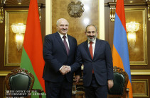 Nikol Pashinyan congratulates Alexander Lukashenko on being re-elected as President of Belarus