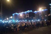 Մինսկում ցույցերը ցրելու ժամանակ հրաձգություն է տեղի ունեցել. լրագրող է վիրավորվել