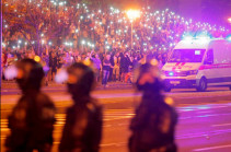В Минске завершились беспорядки