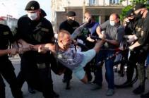 В Белоруссии задержали более двух тысяч человек за прошедшие сутки