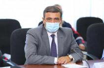 Սուրեն Պապիկյանը ՀԱԷԿ-ի աշխատակազմին է ներկայացրել նորանշանակ տնօրեն Էդուարդ Մարտիրոսյանին