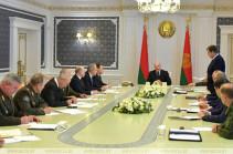 Лукашенко собрал совещание «по защите конституционного строя»