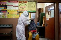 В Индии зафиксирован антирекорд по числу новых случаев коронавируса