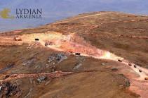 ЕБРР вышел из Амулсарской программы исключительно из-за продолжавшегося беззакония в Армении – Lydian Armenia
