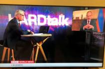 BBC-ի «HardTalk»-ի այսօրվա հյուրը ՀՀ վարչապետն է