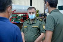 Артак Давтян побывал с визитом на предприятиях военно-промышленного комплекса