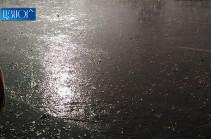 В Армении ожидаются кратковременные дожди и грозы