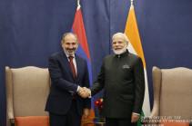 Никол Пашинян направил поздравительное послание премьер-министру Индии по случаю Дня независимости страны
