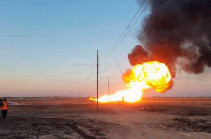 Syria's gas pipeline explosion caused by terrorist attack, minister says