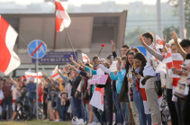 Belarus' opposition council members detained on charges of organizing unauthorized rally