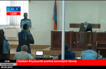 Court hearing of case against Armenia's second president resumes