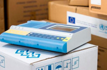 EU, WHO hand over 100 oxygen concentrators, 20 electrocardiographs and 10,000 PCR tests to Armenia's Ministry of Health